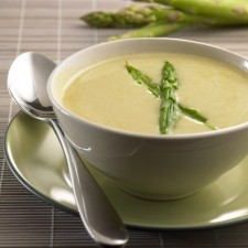 Booster cream of Asparagus soup
