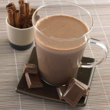 Chocolate Booster drink gingerbread style